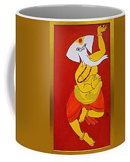 Dancing Ganesha Coffee Mug