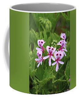 Dancing Geraniums Coffee Mug