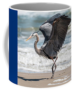 Dancing Heron #2/3 Coffee Mug