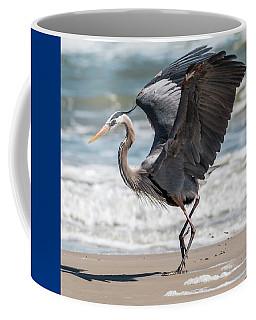 Dancing Heron #2/3 Coffee Mug by Patti Deters