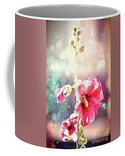 Dancing Hollyhock Coffee Mug