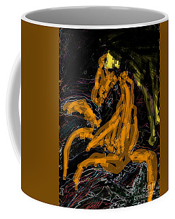 Dancing Horse Coffee Mug