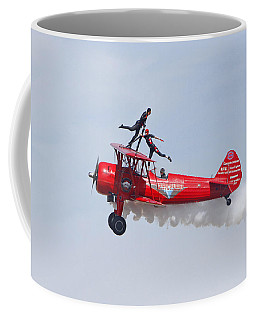 Dancing On The Wings Coffee Mug by Shoal Hollingsworth