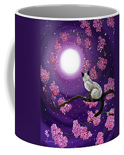 Dancing Pink Petals Coffee Mug