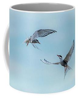Dancing Terns Coffee Mug