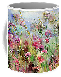 Dancing Thistles Coffee Mug