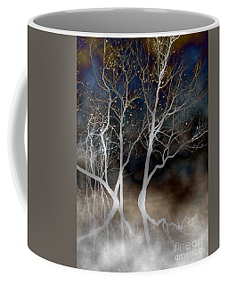 Dancing Tree Altered Coffee Mug