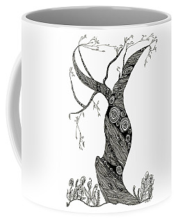 Dancing Tree Coffee Mug