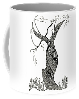 Dancing Tree Coffee Mug