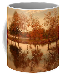 Dancing Trees - Lake Carasaljo Coffee Mug