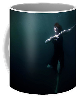 Coffee Mug featuring the photograph Dancing Under The Water by Nicklas Gustafsson