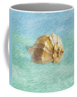 Coffee Mug featuring the photograph Dancing With The Sea by Betty LaRue
