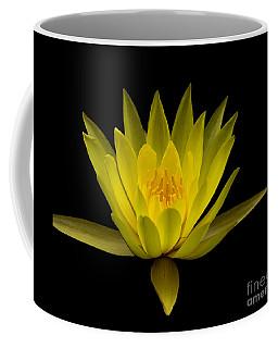 Dancing Yellow Lotus Coffee Mug