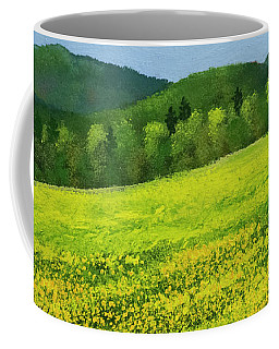 Dandelion Bloom Coffee Mug