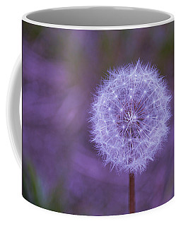 Coffee Mug featuring the photograph Dandelion Geometry by SimplyCMB