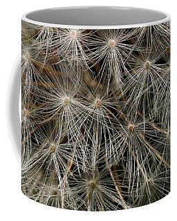 Coffee Mug featuring the photograph Dandelion Head by William Selander