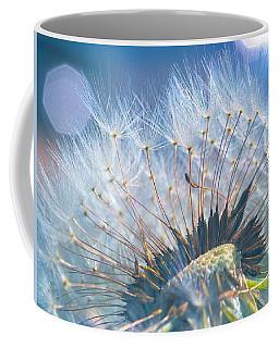 Dandelion In Light Coffee Mug