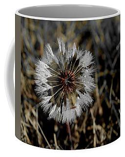 Dandelion In The Dew Coffee Mug