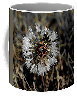 Dandelion In The Dew Coffee Mug