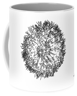 Coffee Mug featuring the photograph Dandelion by Ludwig Keck