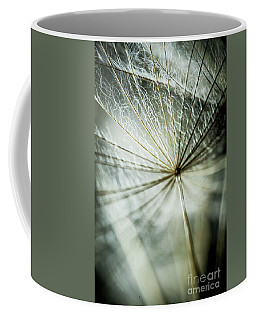 Dandelion Petals Coffee Mug by Iris Greenwell