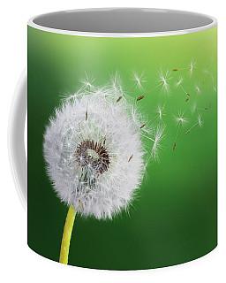 Dandelion Seed Coffee Mug by Bess Hamiti