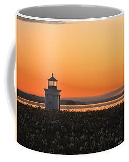 Dandelions At Sunrise Coffee Mug