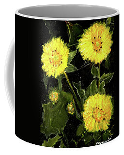 Dandelions By Mary Krupa  Coffee Mug