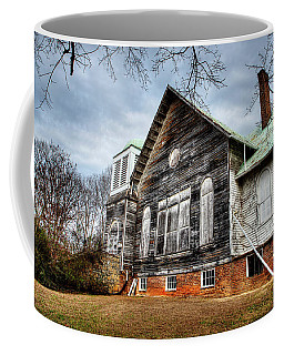 Coffee Mug featuring the photograph Dandridge First Baptist Church by Paul Mashburn