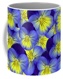 Dandy Pansies Coffee Mug
