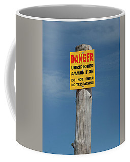 Danger Coffee Mug