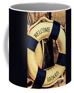 Dangers From Nautical Old Coffee Mug