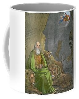 Daniel In The Lions' Den Coffee Mug