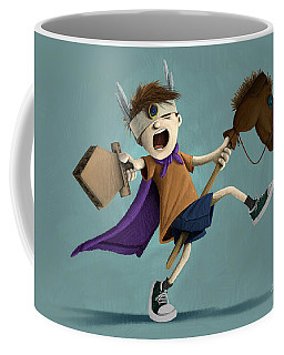 Daniel The Brave Coffee Mug