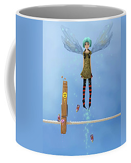 Danksy, Caught In The Act. Coffee Mug