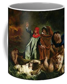 Dante And Virgil In The Underworld Coffee Mug