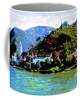 Danube River Scene Coffee Mug