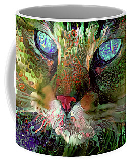 Darby The Long Haired Cat Coffee Mug
