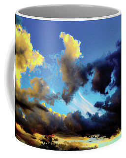 Dark And Dusty Skies  Coffee Mug