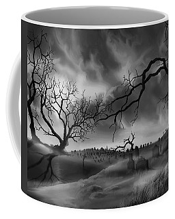 Dark Cemetary Coffee Mug by James Christopher Hill