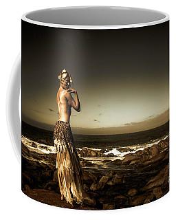 Dark Dramatic Fine Art Beauty Coffee Mug