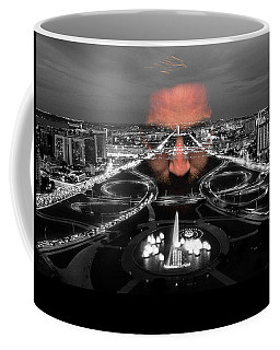 Dark Forces Controlling The City Coffee Mug by ISAW Gallery