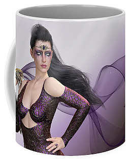 Dark Lady Coffee Mug