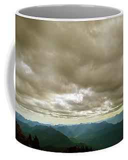 Dark Mountains Too Coffee Mug