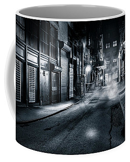 Dark Nyc Coffee Mug by Mihai Andritoiu