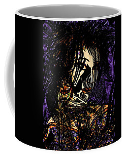 Dark Side Coffee Mug by Natalie Holland