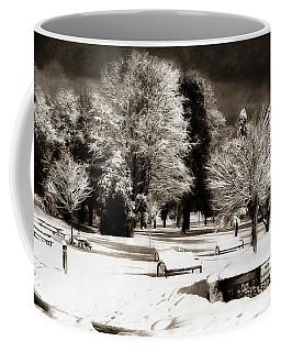 Dark Skies And Winter Park Coffee Mug