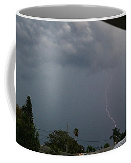 Dark Sky And Lightning Coffee Mug