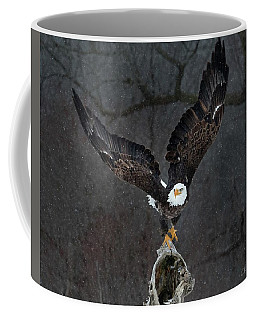 Dark Snowstorm Coffee Mug