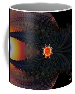 Dark Space Fractal  Coffee Mug